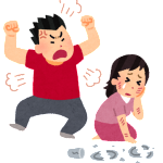 慰謝料と財産分与 夫の暴力(DV)が原因の例